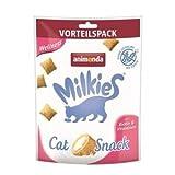 animonda Milkie Knusperkissen Wellness | 6X 120g Katzensnack
