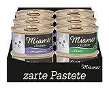 Miamor Pastete Multibox Geflügel | 5X 12x85g Katzenfutter nass