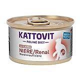 Kattovit Feline Diet Niere/Renal Lamm, 85 g - 12 stück
