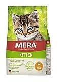 MERA Cats Kitten Huhn - Trockenfutter für heranwachsende Katzen - getreidefrei & nachhaltig - Katzentrockenfutter mit hohem Fleischanteil - 2 kg