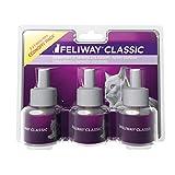 Feliway Classic Vorteilspack   3 x 48ml Nachfüllflakon inkl. Wohlfühlguide von Tierglück24   Zur Entspannung bei Katzen