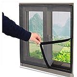 Katzenschutznetz für Fenster, selbstklebend, ultrafeines Netz, einfach zu installieren ohne zu Bohren, Netzvorhang gegen Insekten