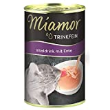 Miamor Trinkfein Vitaldrink mit Ente   24x 135ml Katzenfutter Snacks