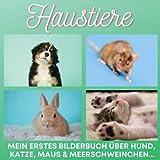 Haustiere: Mein erstes Bilderbuch über Hund, Katze, Maus & Meerschweinchen...