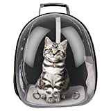 FancyWhoop Rucksack Katzen Transport - Katzenrucksack Hunderucksack Carrier Tasche Tragetasche Transporttasche Katze Tragerucksack Reise Fuer Haustier