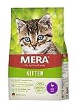 MERA Cats Kitten Ente, Trockenfutter für heranwachsende Katzen und Kätzchen, getreidefrei & nachhaltig, Katzentrockenfutter mit hohem Fleischanteil, 2 kg