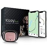 Kippy EVO - GPS-Halsband für Hunde und Katzen mit Standort- und Aktivitätserkennung und Gesundheitsstatus - Zubehör für Hunde und Katzen - mit langlebiger Batterie und LED-Taschenlampe - Pink