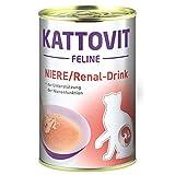 Finnern Kattovit Niere/Renal Drink   12x 135ml Ergänzungsfutter Katze