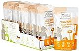 MjAMjAM - Premium Nassfutter für Katzen - Quetschie - saftiges Huhn an leckeren Möhrchen, 12er Pack (12 x 125 g), getreidefrei mit extra viel Fleisch