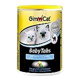 GimCat Baby Tabs - Funktionale Leckerli mit Taurin und L-Carnitin für junge Katzen ab der 6. Woche - 1 Dose (1 x 85 g)