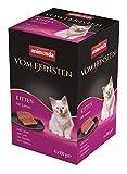 animonda Vom Feinsten Kitten, Nassfutter für wachsende Katzen im ersten Lebensjahr, mit Lamm, 6 x 100 g