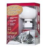 Felisept Home Comfort Starter-Set (Verdampfer + Flakon 45ml) - Mit natürlicher Katzenminze - Beruhigungsmittel für Katzen - Von Tierärzten empfohlen - Wohlbefinden & Entspannung für Katzen