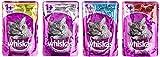 Whiskas 1+ Katzenfutter Fisch- und Fleischauswahl in Gelee 36 + 12 gratis, 1 Packung (1 x 4.8 kg)
