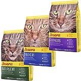Josera Die Gourmetvariation für die Katze: je 2 kg NatureCat, DailyCat & Culinesse