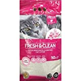 Fresh & Clean - Katzenstreu – Babypuder 10 l – 1 Packung (10 l)