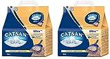Catsan Ultra Plus – Katzenstreu aus feinen natürlichen Tonkörnchen – 1 x 10 Liter