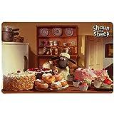Trixie 24572 Shaun the Sheep Napfunterlage Shauns Bakery, fotomotiv