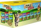 MAC'S Nassfutter Pouchpack MULTIPACK 12x 100g für Katzen getreidefrei