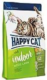 Happy Cat Indoor Adult Weide-Lamm, 1er Pack (1 x 10 kg)