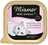 Miamor Milde Mahlzeit Geflügel Pur & Schinken 16x100g