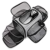 ESTARER Tragetasche Faltbare Transporttasche für Katze und Kleine Hunde im Auto, Fugzeug oder in der Bahn