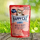 Happy Cat Pouch Adult Rind & Herz
