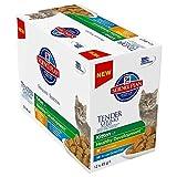 Hill's SP - Kitten - Favourite Selection 12 x 85 g (+ Gratis Behälter)