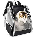 Hunderucksack,Katzenrucksack Rucksäcke für Kleine Hunde und Katzen,Haustiere Tragetasche Transportbox Katze Faltbare Transporttasche Hundehütte Atmungsaktive Reisetasche