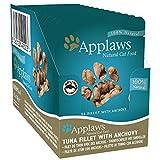 Applaws 9100946 PET, Cat Beutel Thunfisch & Sardelle 12er (70 g)