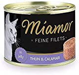 Miamor Feine Filets in Jelly Thun & Calamari 12x185g