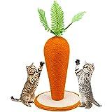 Hmpet Wandkratzbaum,Kratzsäule für Katzen,Sisalseil für Kratzbaum,Spielzeug-Kätzchen Aktivitätszentrum,Katzen Zubehör,64 * 30CM