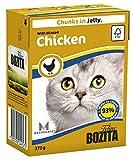 Bozita Chunks in Jelly mit Hackfleisch Huhn 370g (16Stück)