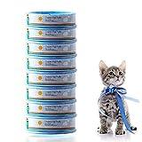 ALETO 8 Stück Nachfüllkassette für Litter Locker II, cat Litter Disposal System