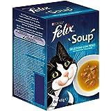 Felix Soup Katze Fisch mit Dorsch, mit Thunfisch, 8 Einheiten 287 g