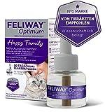 FELIWAY® Optimum Nachfüllflakon 48ml   Hilft Katzen ruhig & entspannt zu bleiben   30-Tage Nachfüller