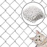 Katzensicherheitsnetz, Katzennetz, Balkonnetz, Schutznetz, Haustierschutznetz, für Innen- und Außenbereich, Haustier- und Spielzeugsicher, Geländer, Gitter für Balkon, Fenster, Treppen
