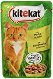 Kitekat Wet cat Food with Chicken - Pack of 48 Bags x 100 g