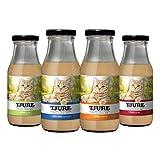 Tjure 'All in One 4 x 220 ml für Katzen – Den Katzensmoothie gibt es in Geflügel, Rind, Lamm & Pute. Ideal in der Rekonvaleszenz.