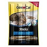 GimCat Sticks - Softer Kausnack als Belohnung mit hohem Fleischanteil und Vitaminen