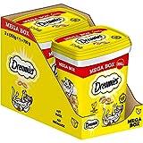 Dreamies Mix Katzensnacks mit Käse-Geschmack – Außen knusprig & innen cremig – 2 x 350g