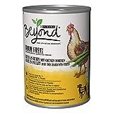 PURINA BEYOND Premium-Hundenassfutter getreidefrei, mit Huhn und grünen Bohnen, 6er Pack (6 x 400 g Dose)