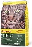JOSERA NatureCat (1 x 10 kg) | getreidefreies Katzenfutter mit Geflügel- und Lachsprotein | Super Premium Trockenfutter für ausgewachsene Katzen | 1er Pack