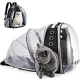 YUDOXN Katzenrucksack und Hunderucksack,Haustier Rucksäcke für Hund und Katzen.Tragbare und Erweiterbare Outdoor Faltbarer Raum Tragetasche zum Wandern, Wandern, Reisen im Freien.