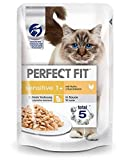 PERFECT FIT Sensitive Huhn | 12x 85g Katzenfutter nass