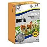 16er Pack Bozita Cat Tetra Recart Verpackung Kitten 190g