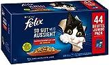 FELIX Katzennassfutter So gut wie es aussieht in Gelee Geschmacksvielfalt vom Land 44 x 85 g