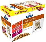 HILL'S PRESCRIPTION Multipack K/D Nierenpflege Diät – 12 x 85 g