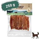 Wildes Land - Hühnerbrust in Streifen - 250 g - Extra viel Fleisch (93%) - Getreide- und glutenfrei - Unter 4% Fett - Für Hunde und Katzen