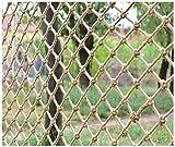 WX-WX Universal Sicherheitsnetz for Kinder Katze, Verschleißschutz Isolation Seilnetz, Hängematte Schaukelnetz Katzennetz Fischernetz Anpassung(Size:3 * 3M(10 * 10ft))