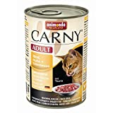 animonda Cat Carny Adult Rind,Huhn,Entenherz | 6x400g